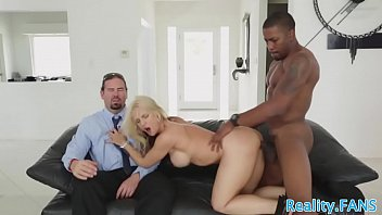 Busty milf fucked in real cuckold action