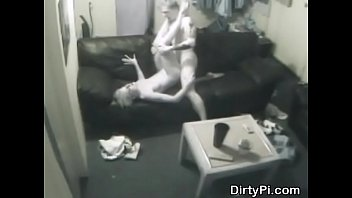 cheating blonde dirtbag caught getting banged by spy camera