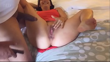 hubby filmed his wife enjoy a.