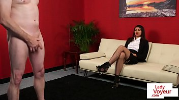 cute femdom instructs sub guy until.