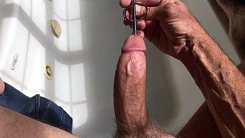 masterbation urethral sounding