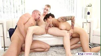 bisexual jock licks before anal in.