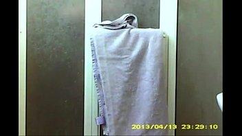 hidden shower caught another sisters friend.