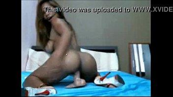 hot brazilian rides dildo on web cam - v1pcamz.com