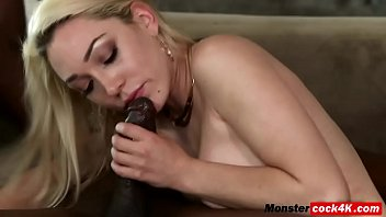 blonde milf was all prepared when bbc lover.