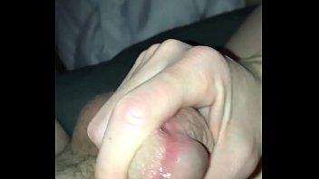 wife strokes big dick till big.