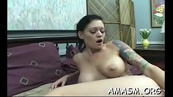 woman smothering hubby in crazy home porn movie.