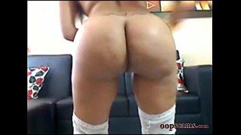 amazing latina anal fuck masturbating.