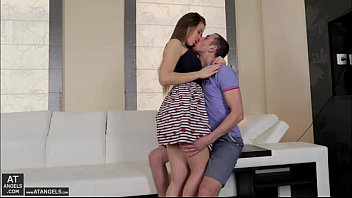 hot an beautiful taissia gets super horny and.