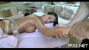 hunk is having fun taming alluring babe'_s horny.