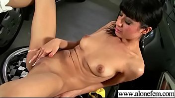 horny alone girl (lily) play till climax with.