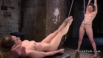 two tied up babes suffer extreme.