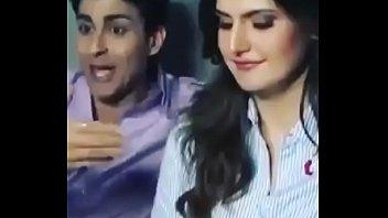 bollywood actress zareen khan hot video and hindi audio
