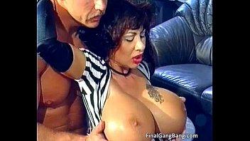 big boobed nasty busty brunette milf