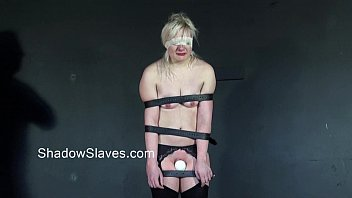 blonde teen slavegirls rough orgasm and caged whipping.