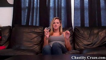 you are going to be my new chastity slave