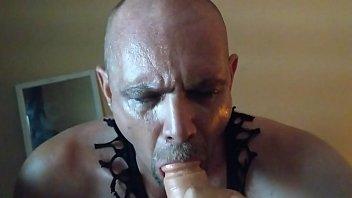 slutboy sucks black cock
