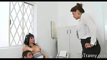 busty shemale maid laura andrade banged by her master