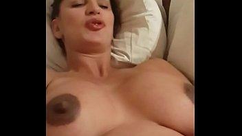 pregnant basketball star shoves a dildo in her.