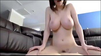 primalcams.com busty cam girl rides dildo.