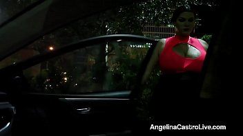 cuban queen angelina castro gets a huge load.