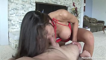 milf hunter bryce pov blowjob with.