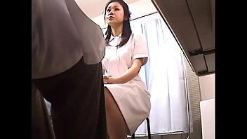 japanese voyeur footage of clumsy nurses making up.