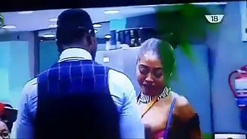 big brother naija cocoice bares her boobs, breastfeeds bassey