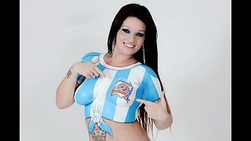 brunette argentine in cup with any.