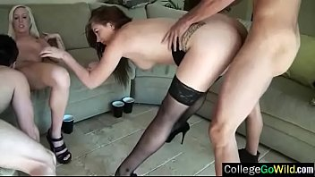 group sex scene with slut party college girls.