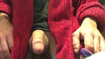 quick clip, rubbing my cock. getting hard! cocksock, cum!
