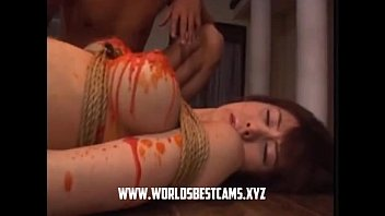 hot japanese teen waxed on her.