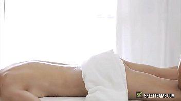 hottie teen banged after massage