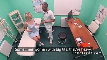 busty beauty bangs doctors big dick