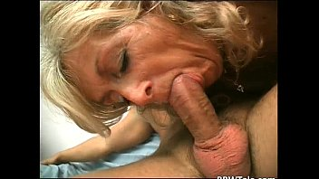 horny blonde slut takes hot and.
