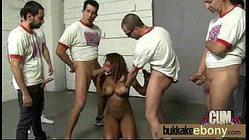 interracial bukkake girl gangbang 27