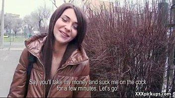 public pickup teen amateur girl get fucked outdoors 03