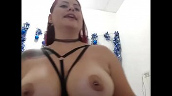 hot girl teasing big tits on.
