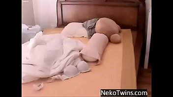 korean girl playing with herself -.