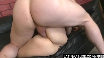 big cock gapes her latin ass.