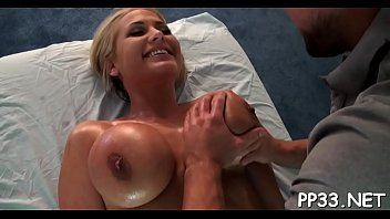 gratifying chick with oil massage