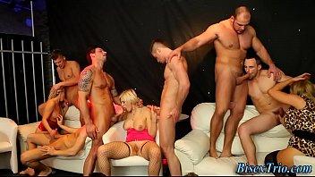 bisexual hos ride in orgy