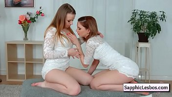 sexy lesbian teen kissing tender from.