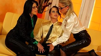 clothed glamour lesbians getting hot and.