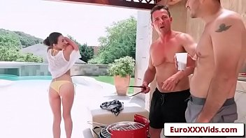 euro sex party fuck - double dicking doll.