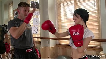 teen boxer babe sandra luberc is an anal.