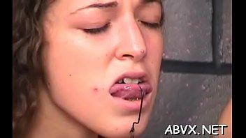 woman man bizarre bondage in naughty.