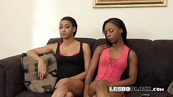 horny lesbian calls her friend over for a.