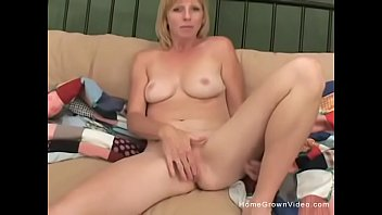 blonde milf takes a cock up.