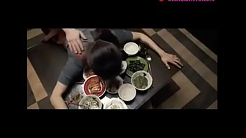 japanese wife fucked on table by.